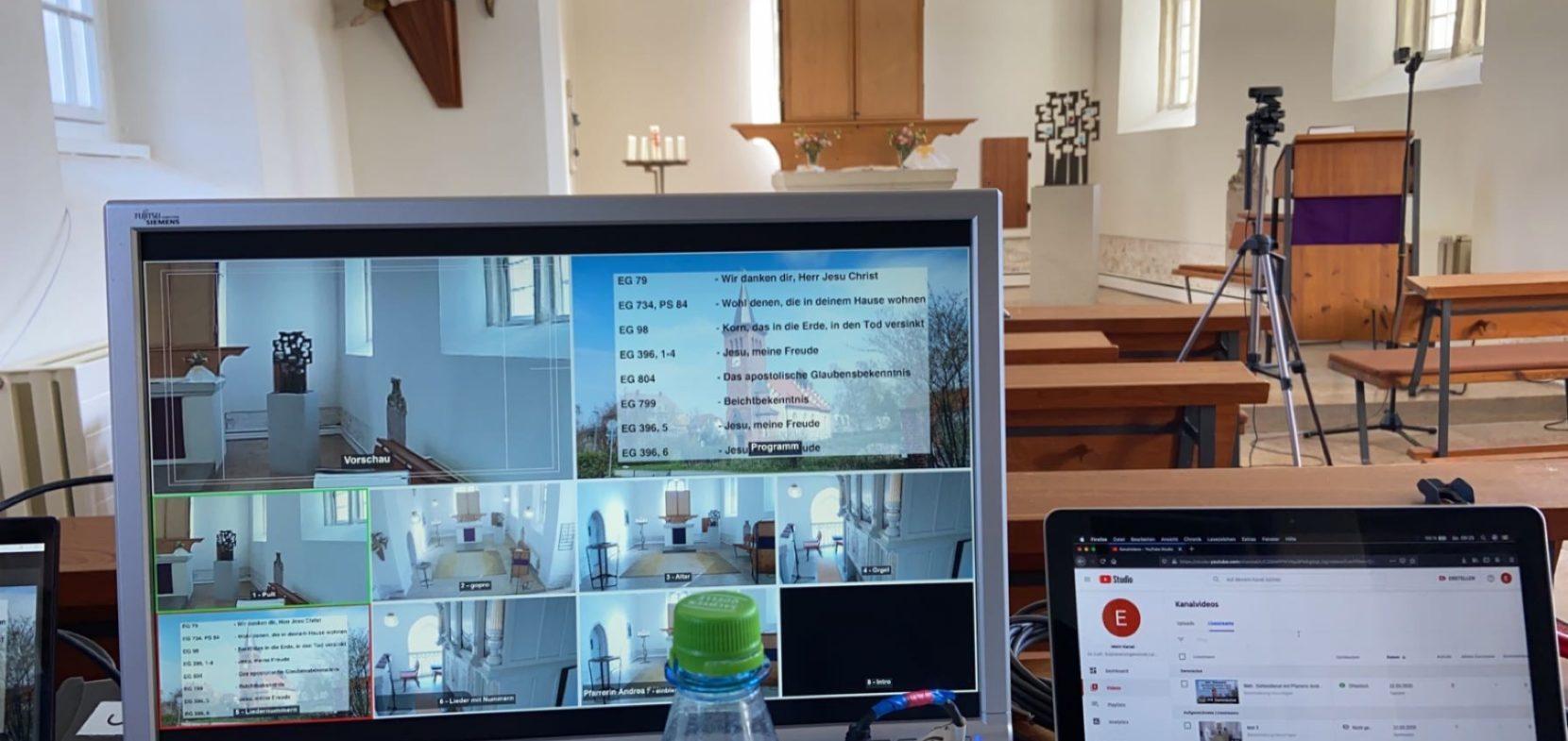 Kirche im Livestream 2020