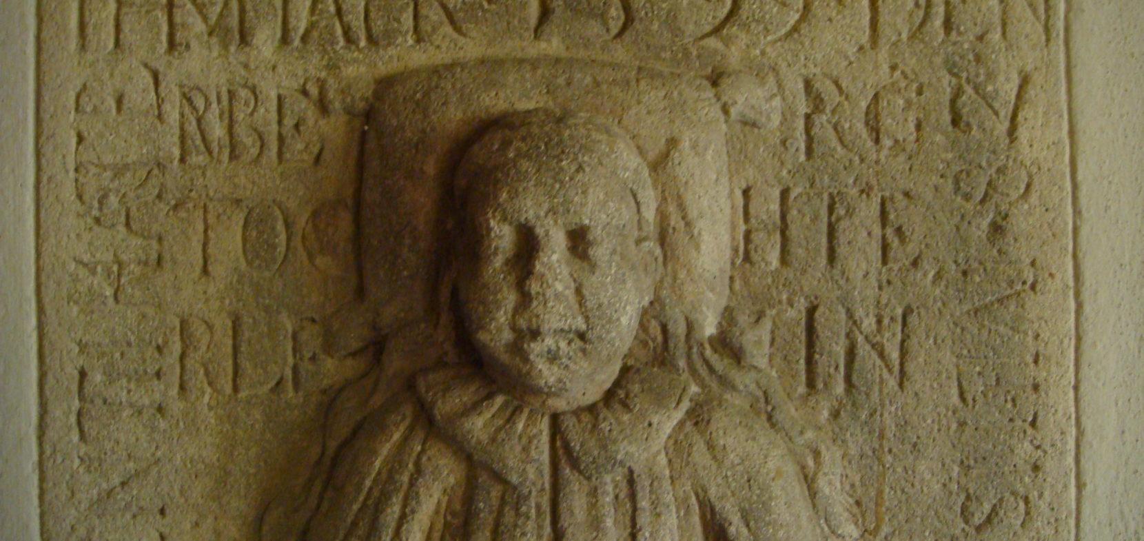 Die Kindergrabplatte Regina Hartenberg