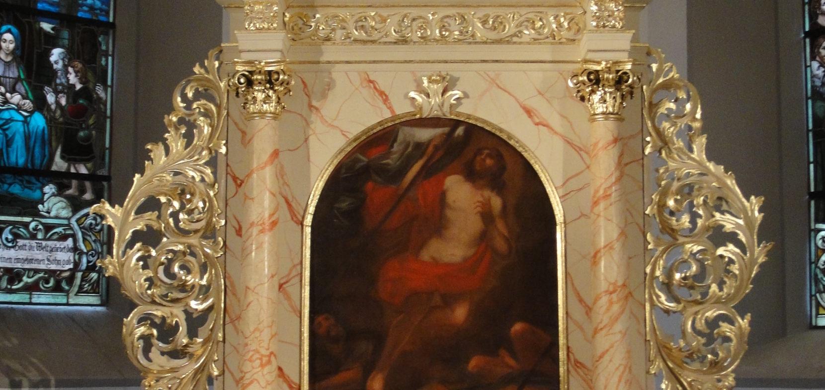 Der barocke Altaraufsatz