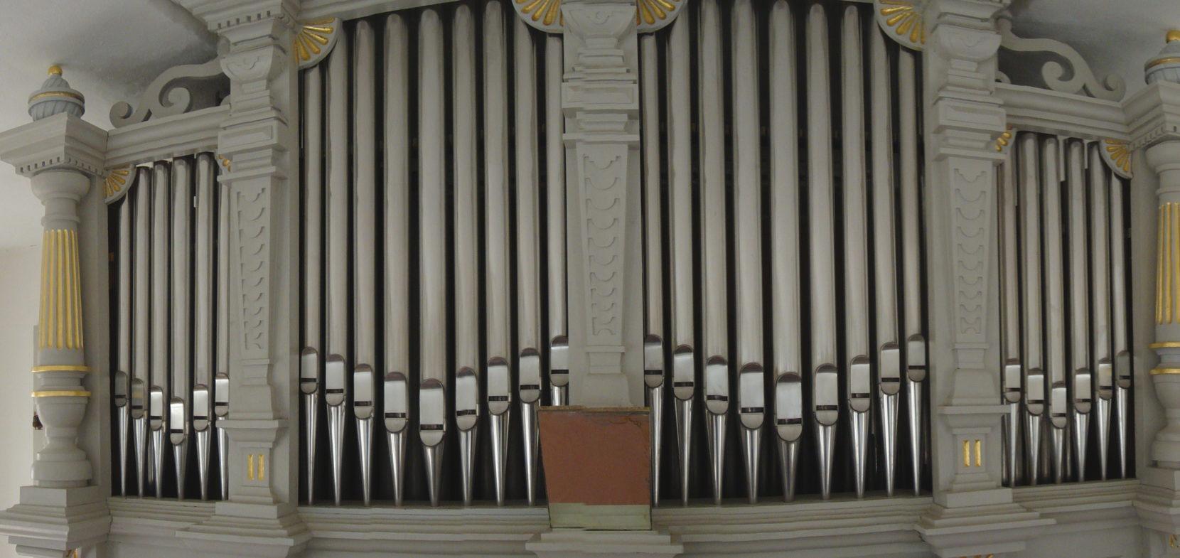 Die Gottfried-Hildebrand-Orgel der Schloßkirche