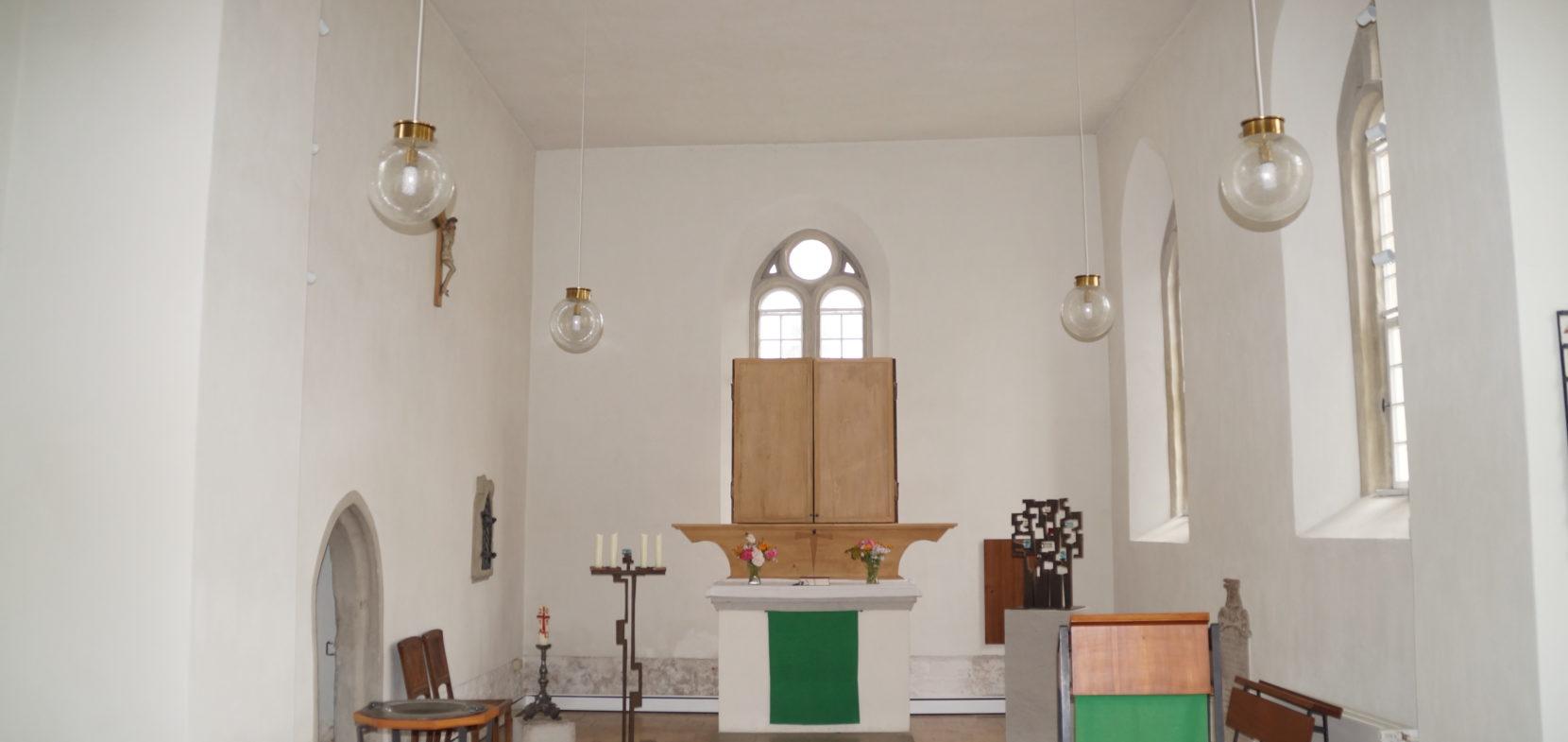 Innenansichten der Schloßkirche