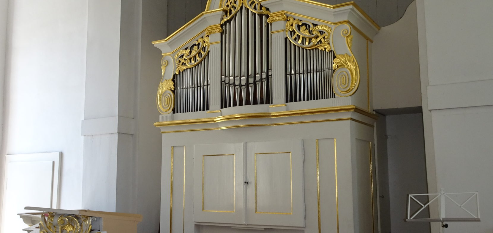 Die Flemming-Orgel von 1793 in der Gustav-Adolf-Kirche in Lindenthal