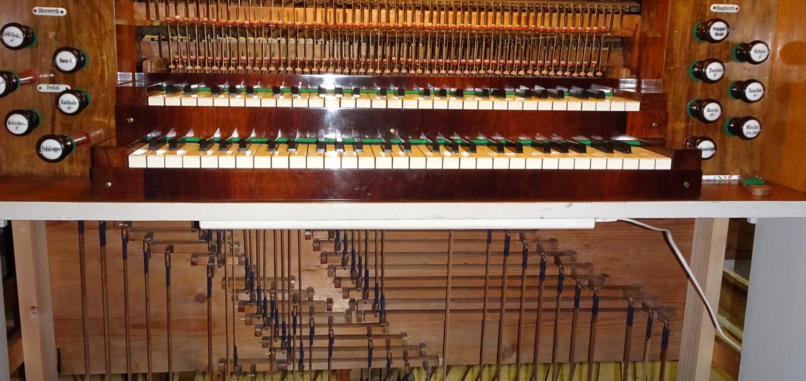 Die Orgeln der Sophienkirchgemeinde