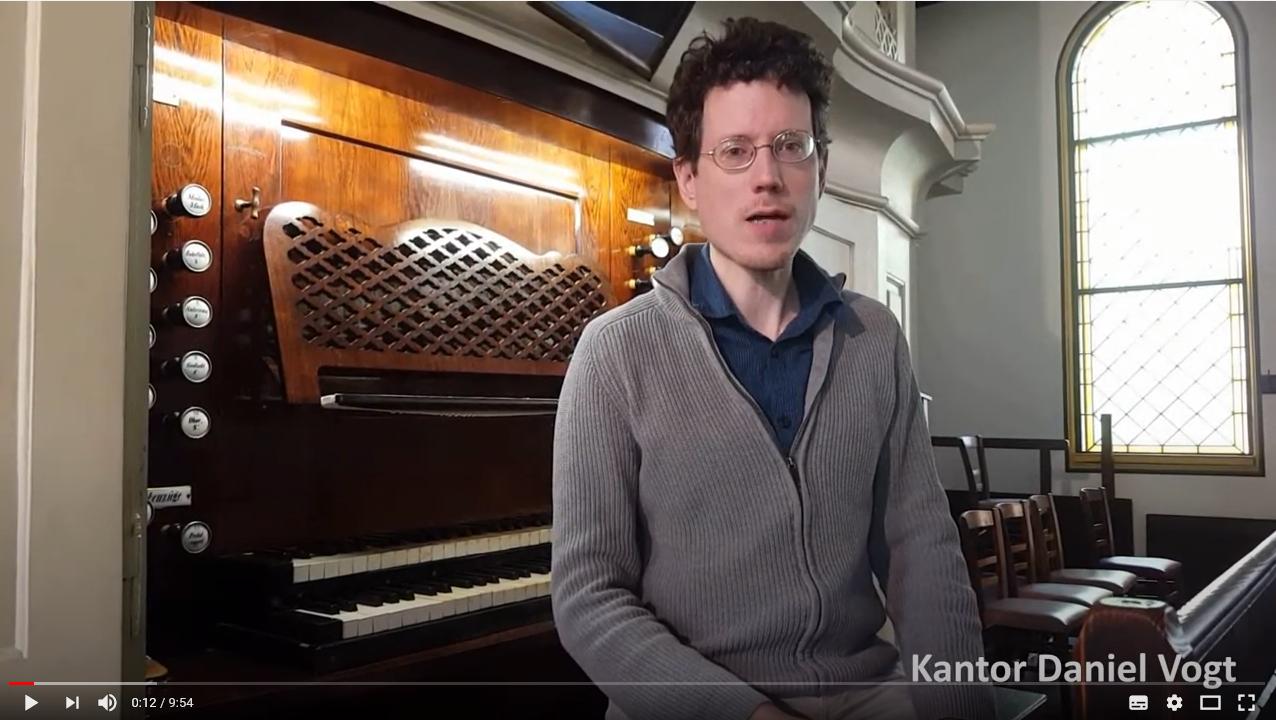 Orgelführung mit Kantor Daniel Vogt