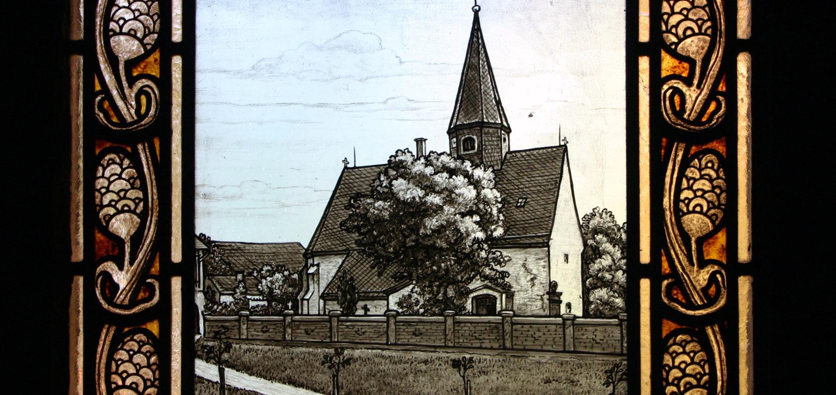 Die Fenster der Sakristei