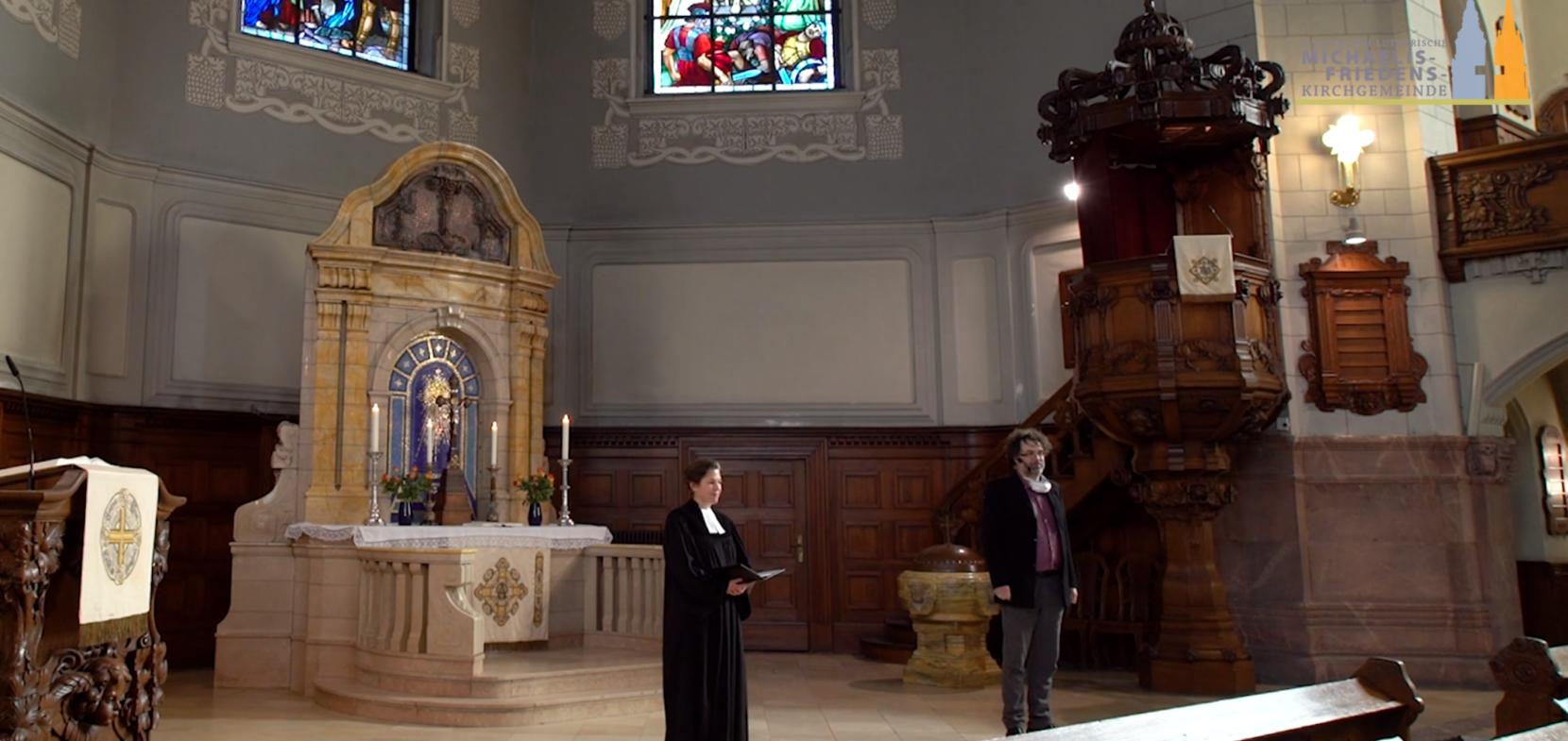 Vorstellungsgottesdienst von Pfarrerin Friederike Deeg
