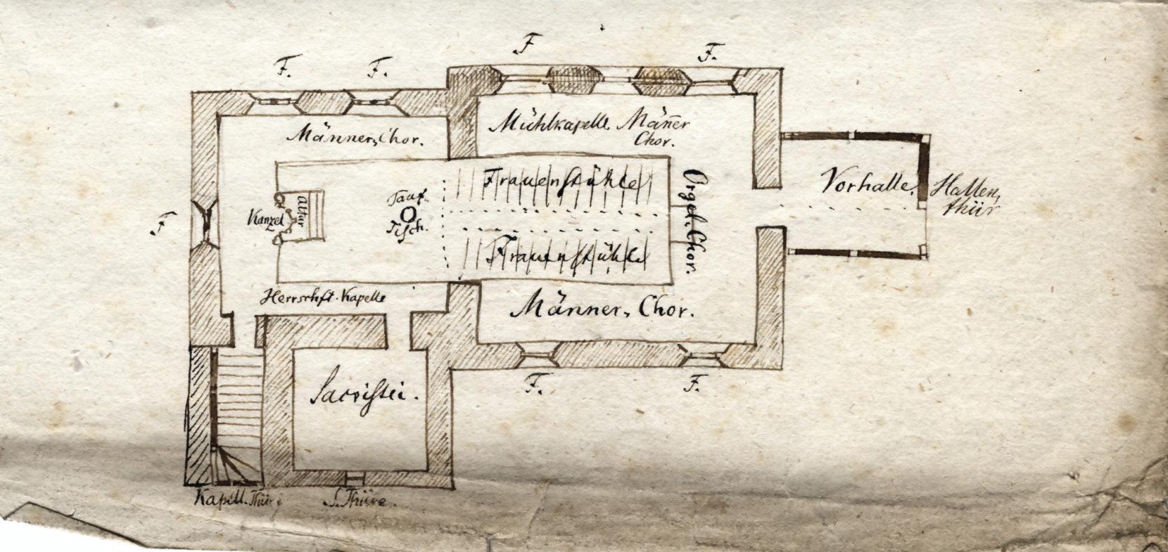 Baugeschichte der Schloßkirche