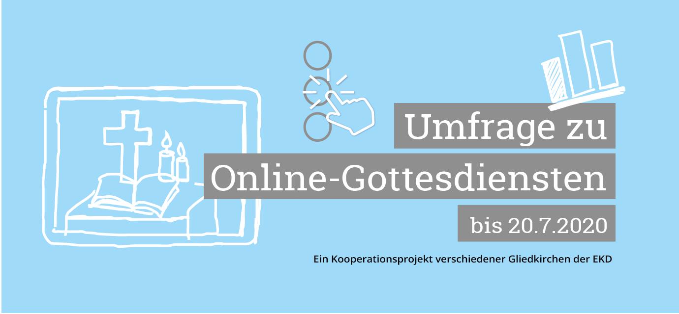 Umfrage zu Online-Gottesdiensten