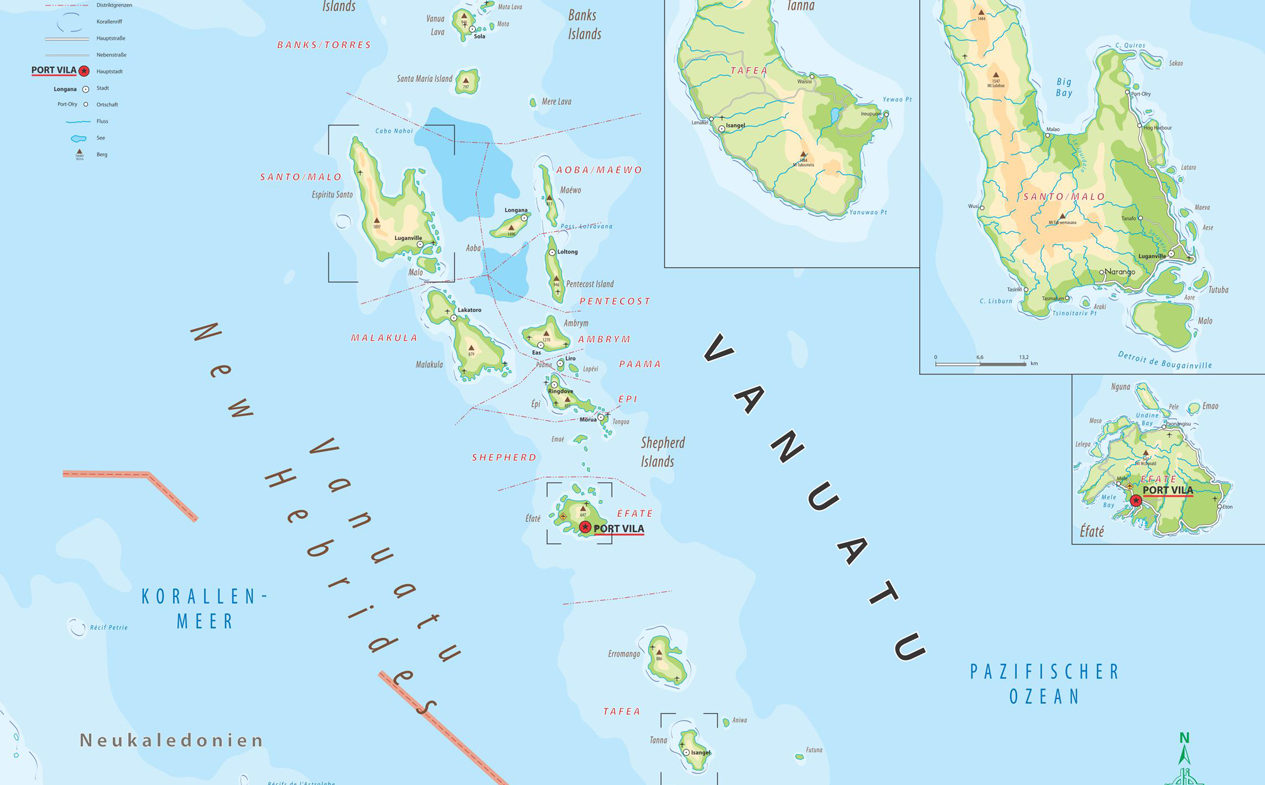 VANUATU – Inselstaat in der Südsee